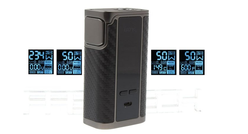 Authentic IJOY Captain PD270 234W TC VW APV Box Mod