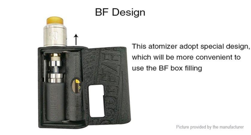 Hugo Vapor Squeezer Squonk BF Mod BF design