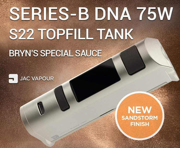 Giveaway: WIN a JAC Vapour Sandstorm DNA75w & more