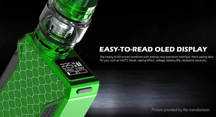 Smoktech H-Priv 2 220w Mod OLED Screen
