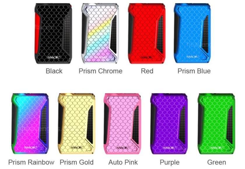 Smoktech H-Priv 2 225w TC Box Mod Colours