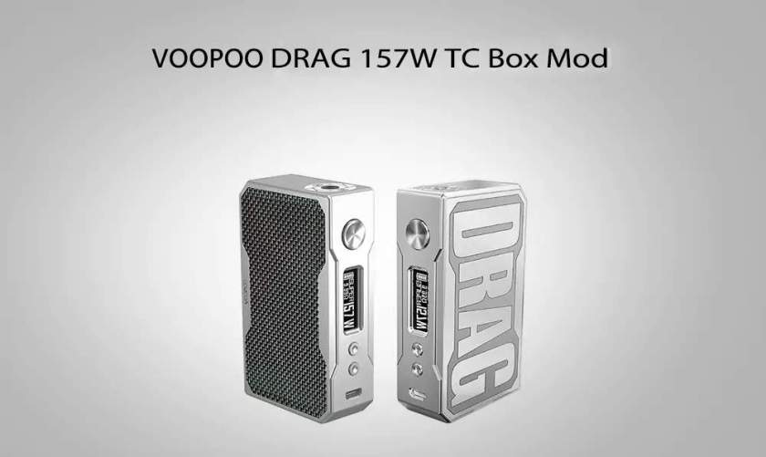 VOOPOO DRAG 157W TC Box Mod 1
