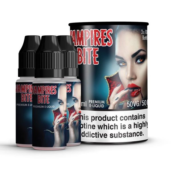 Vampires Bites Premium eLiquid 50PG / 50VG £1.50 per 10ml Bottle @ SEG vapour LTD