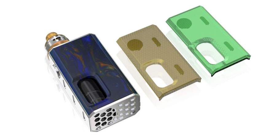 Wismec Luxotic BF Squonk Box Mod replaceable covers