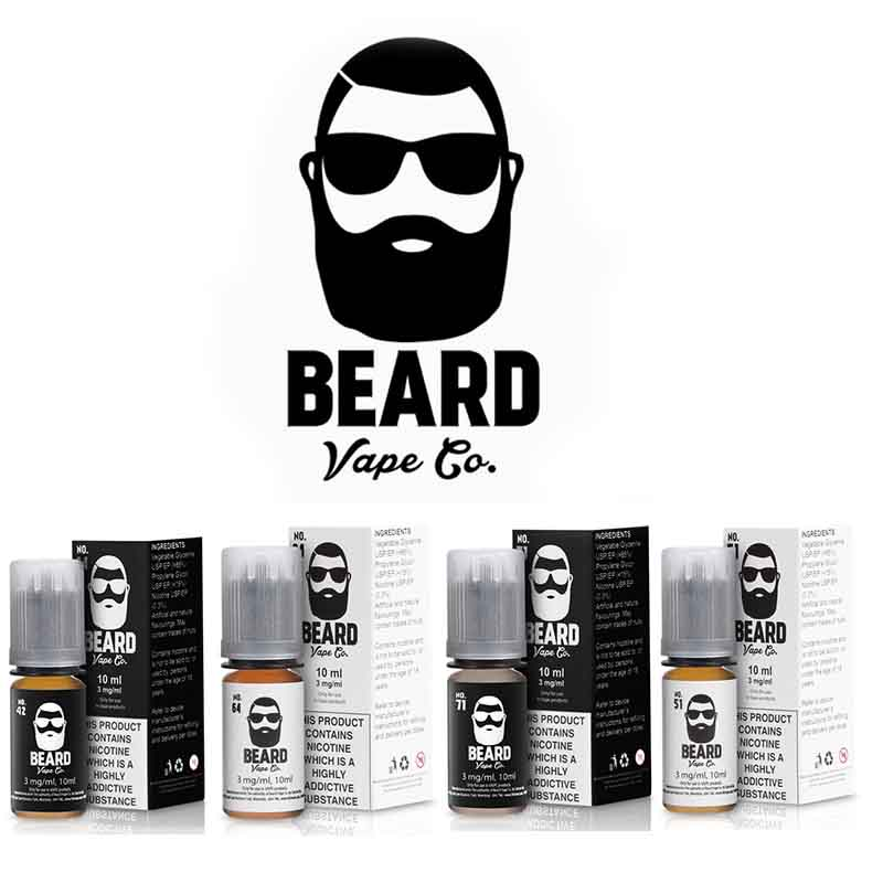 Beard Vape Co Mix N' Match Any 4 Flavours – £14.00