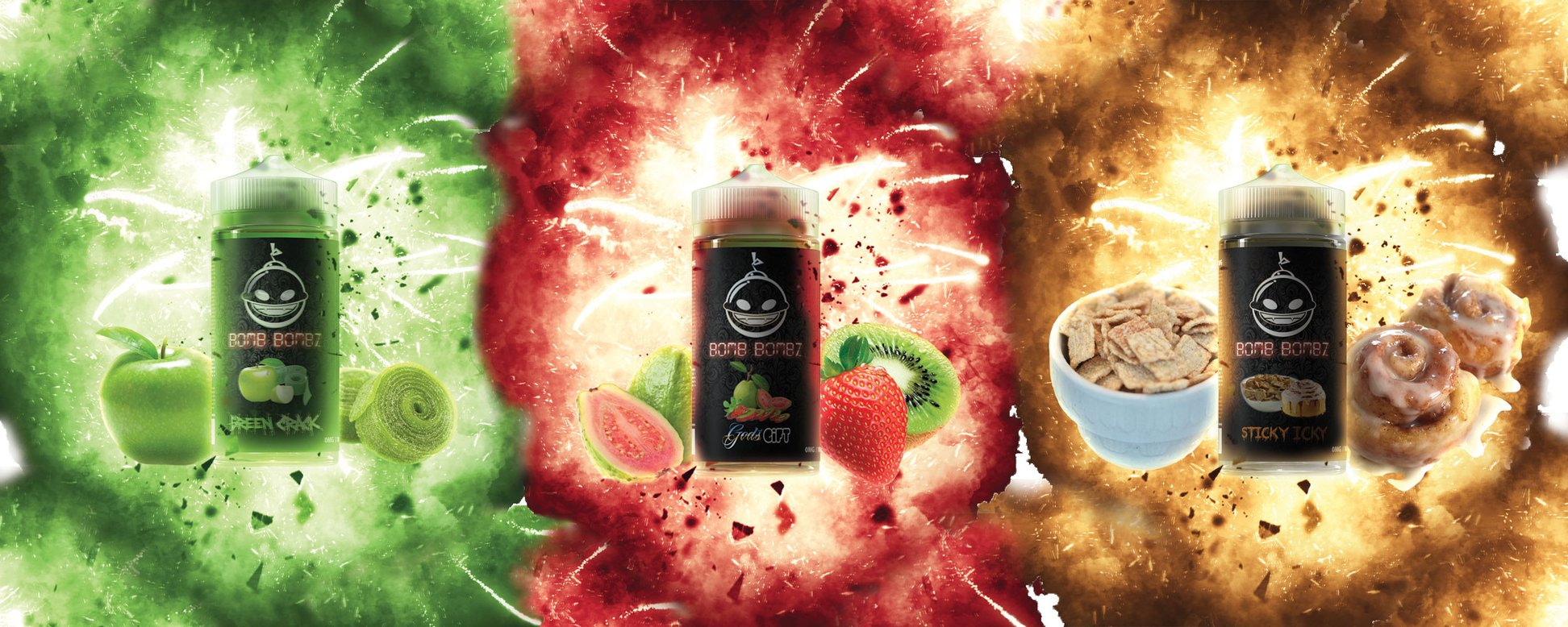 Bomb Bombz E Liquid £13.99 @ Vapour247