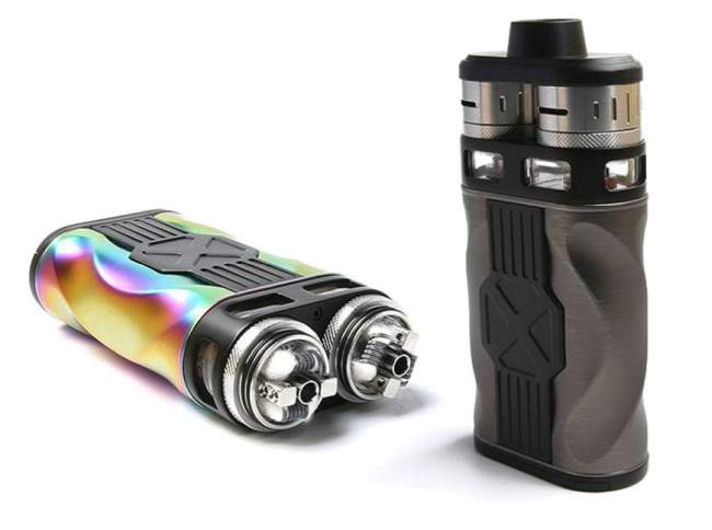 Tesla CP Couples Dual RDA 220W Kit (Colourful) – £43.99