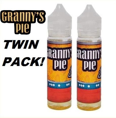 200ml Granny's Pie Shortfill E-Liquid (2x 100ml) – £16.80 delivered