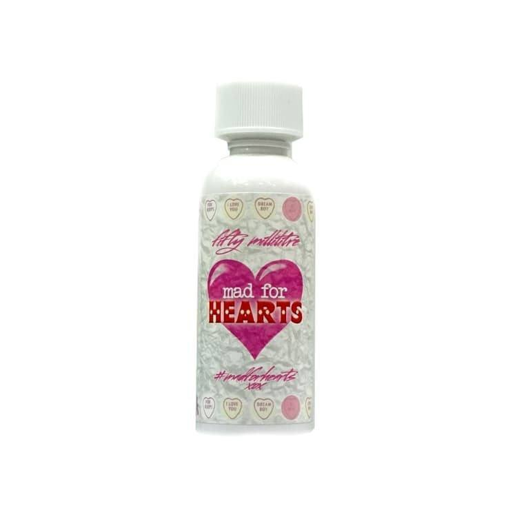 MAD FOR HEARTS – 50ML SHORT FILL – £7.65 at Grey Haze
