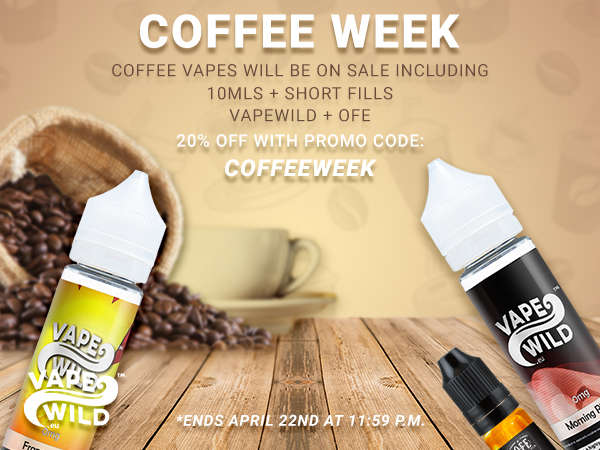 Celebrate Coffee Week 20% Off!