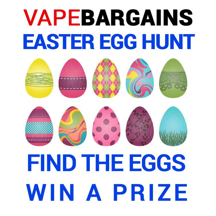 VapeBargains Easter Egg Hunt – MULTIPLE prizes to be won!