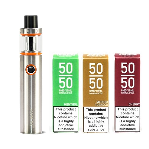 SMOK Vape Pen 22 Starter Kit & E-Liquid – £15