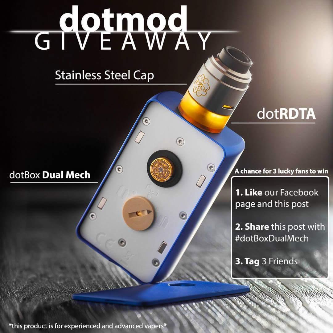 Facebook Dotmod giveaway