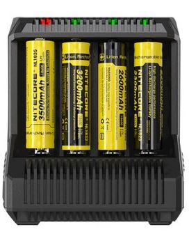 Nitecore i8 Multi-slot Intelligent Charger cheap deal in the uk