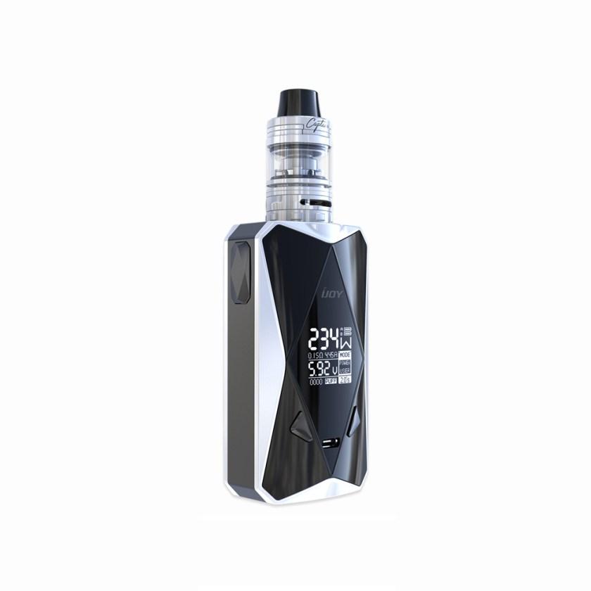 IJOY Diamond PD270 234W TC Kit with Captain Mini 6000mAh(Matte White, TPD Edition)
