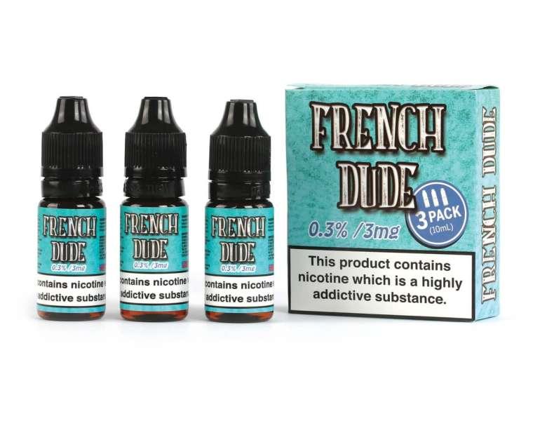30ml French Dude E-Liquid by Vape Breakfast Classics – £3.49