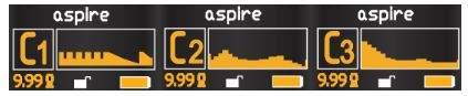 Aspire NX100 Mod Customizable Firing Button Profiles