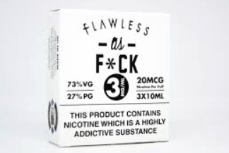 Flawless As fxck White Label – £2.00