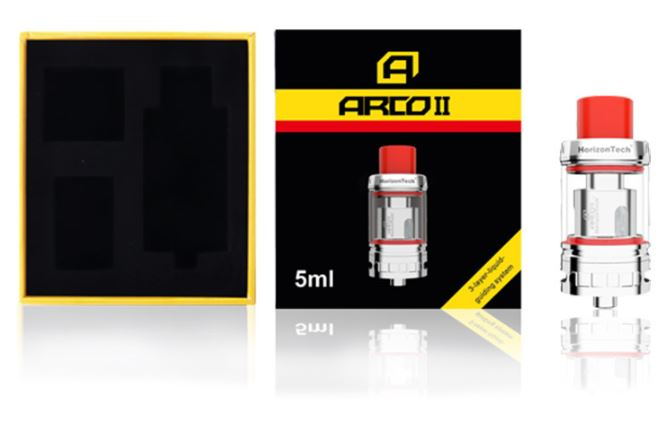 Horizon Arco 2 Tank Packaging Contents