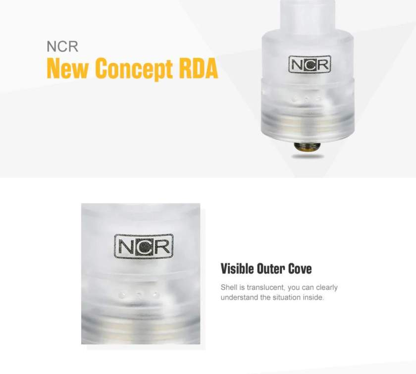 NCR New Concept RDA Features