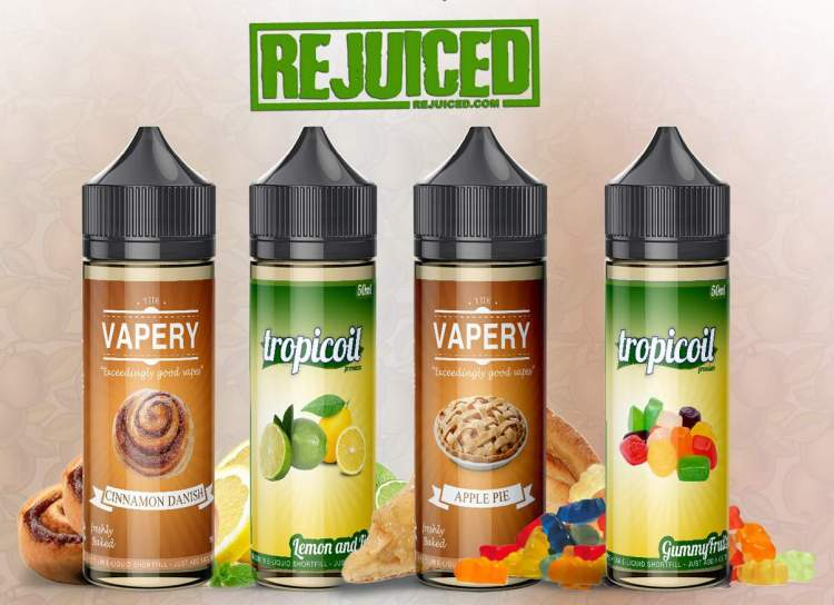 60ml REjuiced Shortfill E-Liquids (incl. Nic shot) – £6.79