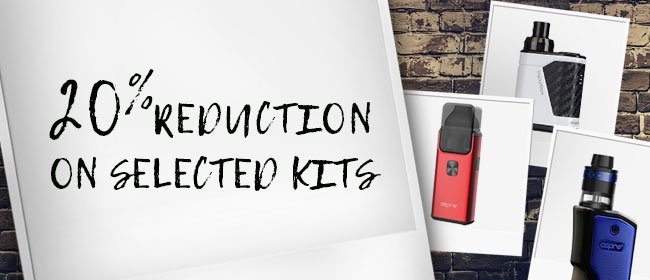 20% Reduction On Selected Kits – From £10.39 At TECC