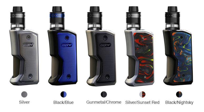 Aspire Feedlink Revvo Squonk Kit Colours