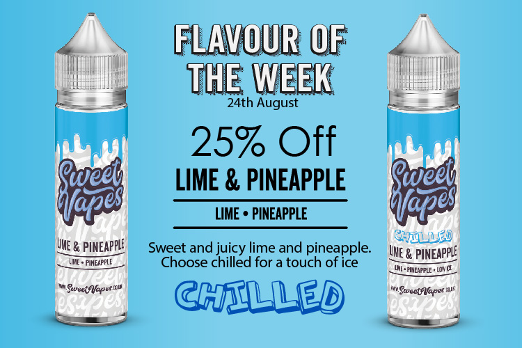 Lime and Pineapple 50ml – £4.20 At Sweet Vapes