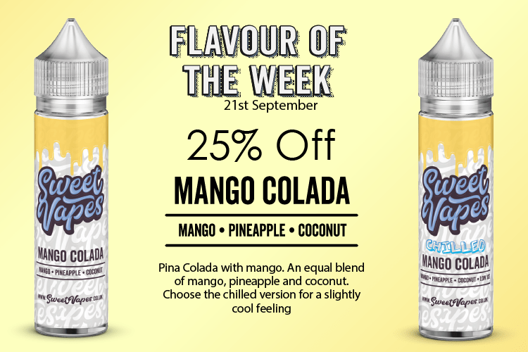 Mango Colada By Sweet Vapes 50ml – £4.20