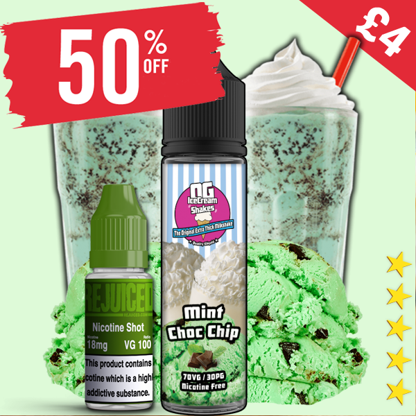 Mint Choc Chip Shake – £3.40 At Re-Juiced