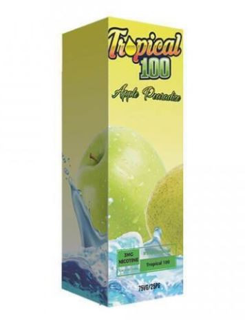 Tropical 100 Apple Pearadise 120ml Shortfill – £9.99