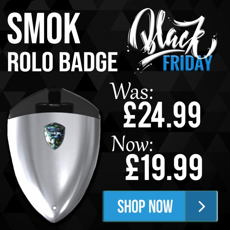 SMOK Rolo Badge – £19.99 at TABlites