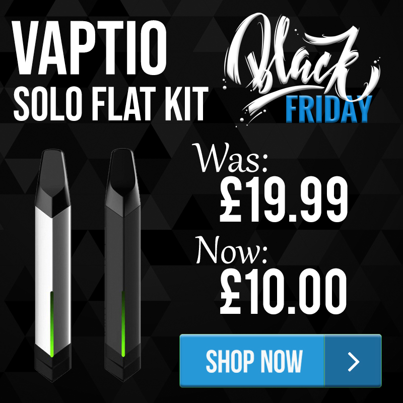 Vaptio Solo Flat Kit – £10.00 – TABlites