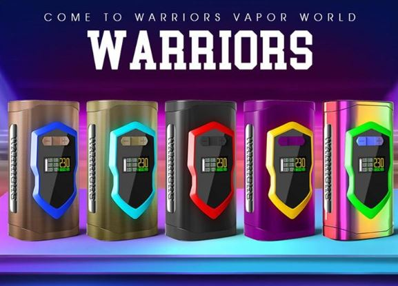 LAISIMO Warrior 230W Box Mod – £12.53