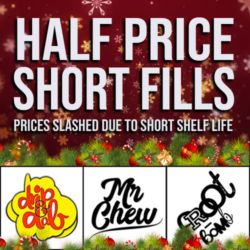 60ml Shortfills – £6.99 At TABlites