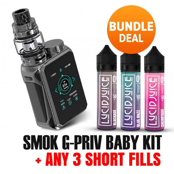 Smok G-Priv Baby Kit Juice Bundle – £54.99