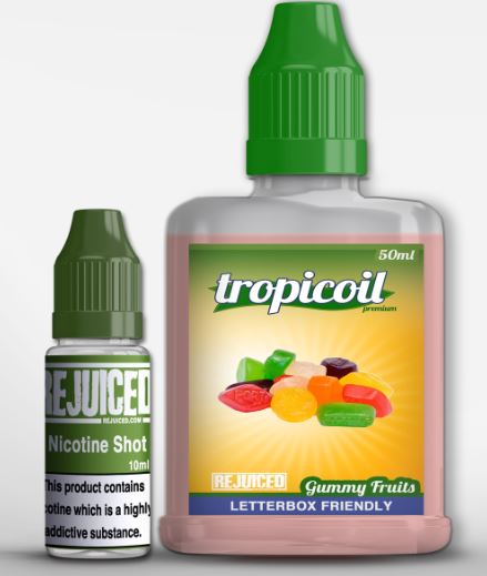 Gummy Fruits – 60ml Shortfill – £3.69