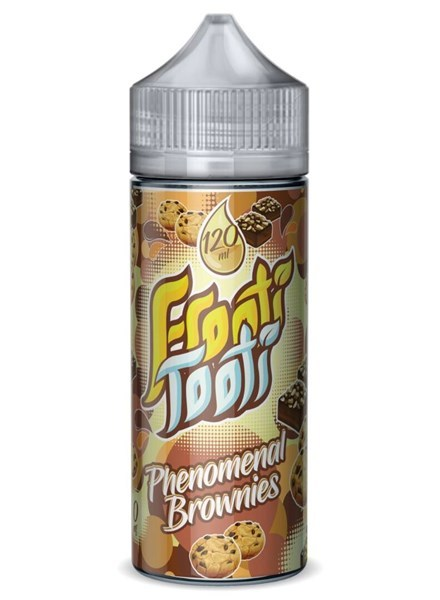 Phenomenal Brownies 120ml Shortfill – £10.00 by Frooti Tooti