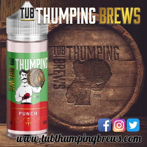 Tub Thumping Brews 100ml Short Fills – £8.13