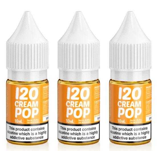 120 Cream Pop E-Liquid – £2.00