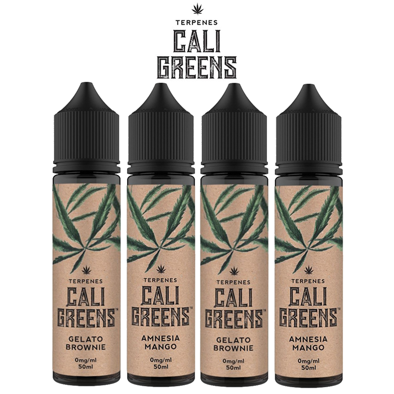 Cali Greens Terpenes 50ml Shortfills – £12.99