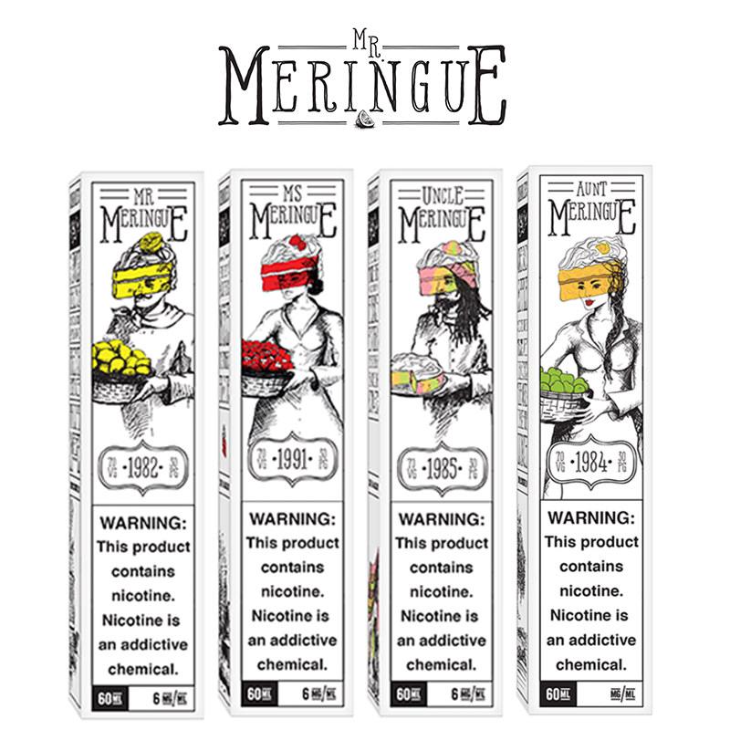 Mr Meringue 50ml Shortfills – £8.99