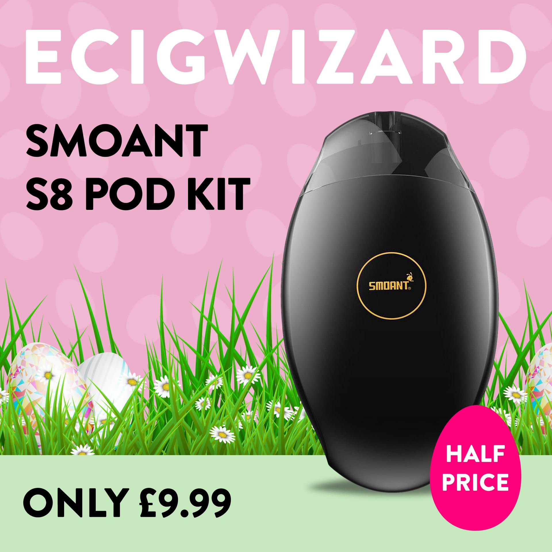 Smoant S8 Pod Kit – £9.99