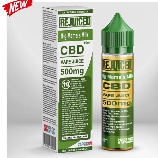 Big Mama's Milk CBD 500mg – £23.12