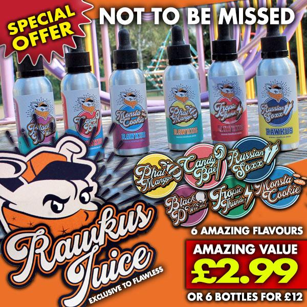 Rawkus Juice 50ml – £2.99