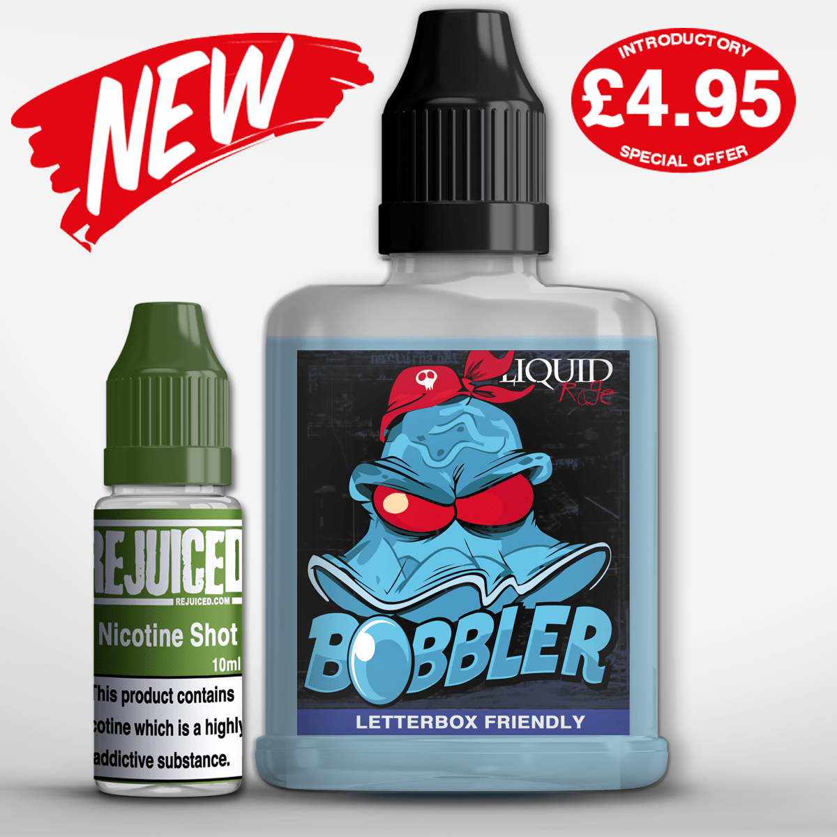 Bobbler Liquid Rage 50% OFF