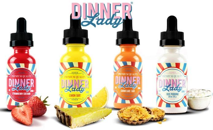Dinner lady 60ml shortfill – £7.50 at Vape Potions