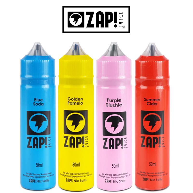 Zap Juice 50ml E-Liquid Shortfills Black Friday Deals – £5.99