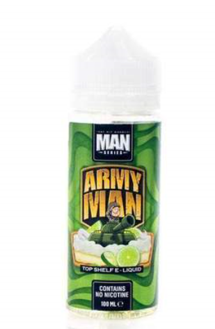 Army Man 100ml Short Fill – £6.80