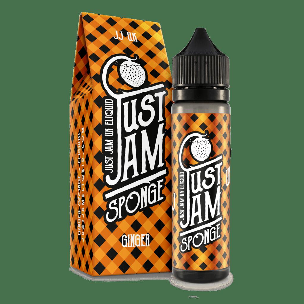 Ginger Sponge 60ml Shortfill – £5.00 by Just Jam